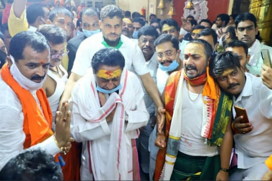 Kamal Nath on Tuesday started his poll campaign for by-polls with a visit to Mahakal Temple in Ujjain.