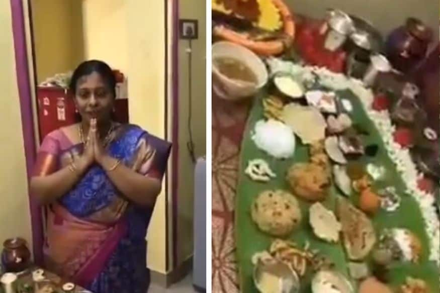 Andhra Woman Cooks 67-Course Meal for her Son-in-Law, Netizens Cannot Stop Drooling