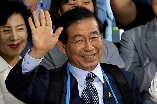 File photo of late Seoul Mayor Park Won-soon. (AP)