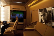 A Sneak Peek Into Salman Khan's Luxurious Vanity Van