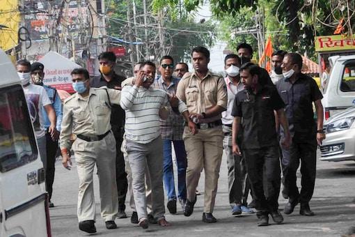Gangster Vikas Dubey arrested. (PTI)