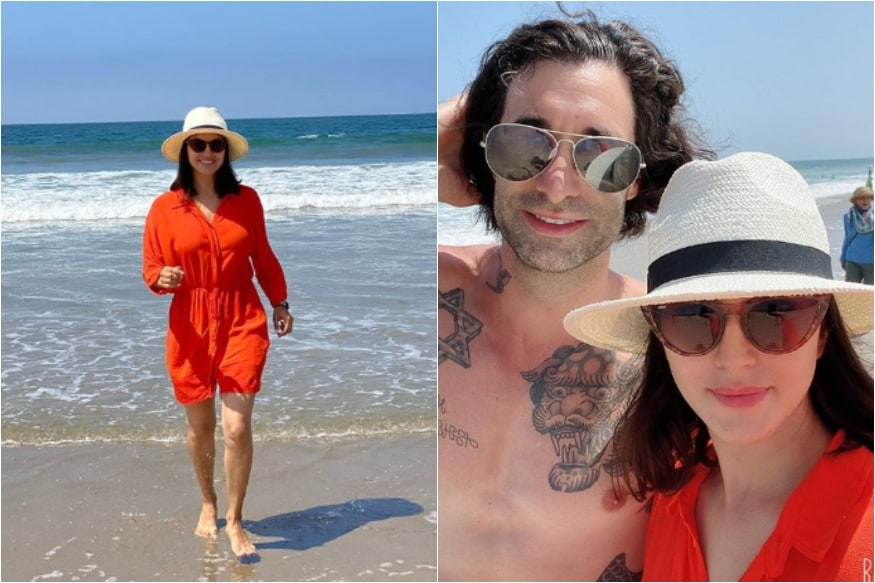 In Pics: Sunny Leone's Beach Outing With Husband Daniel Weber, Kids Will Leave You Envious thumbnail