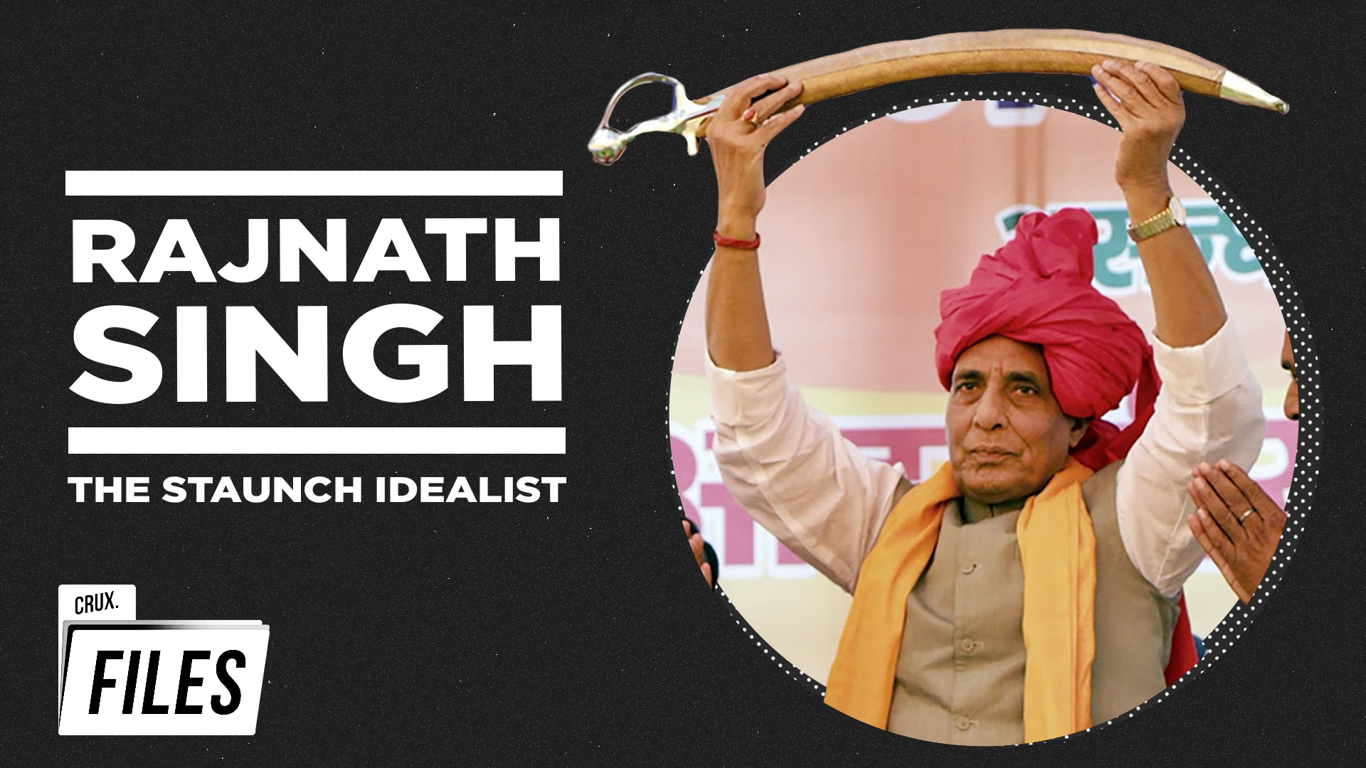 Rajnath Singh: The Man Who Helmed BJP's Transition | Rare Interviews | Crux Files