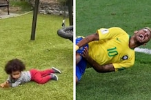 'Neymar as a Kid': Video of Toddler Faking Injury is Reminding Netizens of the Footballer