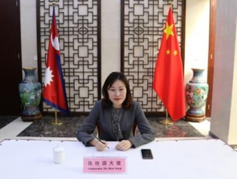 A file photo of Hou Yanqi. (Twitter/Ambassador Hou Yanqi)