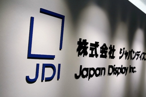 Japan Display Inc's logo is pictured in its headquarters in Tokyo. (Image Source: Reuters)