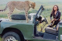 When Karisma Kapoor Shared Screen Space With A Cheetah