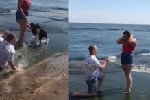 'Falling For You' Takes a Literal Turn as Man's Proposal Has a Slip-Up