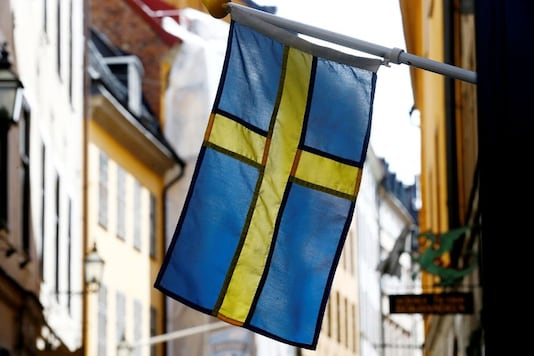 File photo of the Swedish flag. (Reuters)
