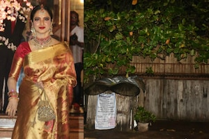 Rekha's Bungalow Sealed by BMC After Guard Tests Covid-19 Positive