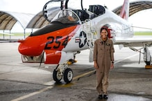 'Making History!' US Navy Welcomes Madeline Swegle, Its First Black Female Tactical Aircraft Pilot