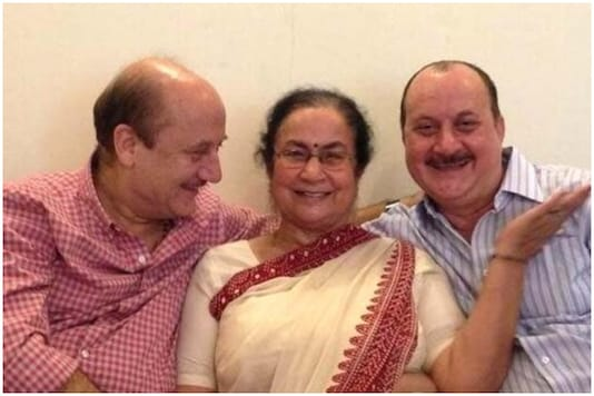 Anupam Kher's Mother, Brother Test Positive for Covid-19, Taken to Hospital; Actor Tests Negative