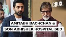 Amitabh Bachchan & Abhishek Bachchan Diagnosed With Coronavirus