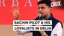 Rajasthan Government Crisis | Sachin Pilot Arrives In Delhi With His Supporters