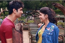 Sanjana Sanghi Shares Unseen BTS Picture With Sushant Singh Rajput From Dil Bechara