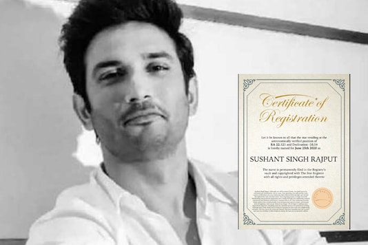 A star named Sushant Singh Rajput | Image credit: Twitter
