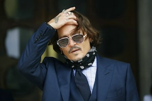 Hollywood Star Johnny Depp Appears in 'Wife-Beater' Libel Case