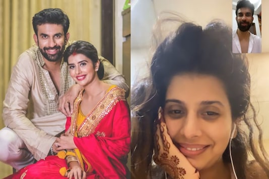 Rajeev Sen Shares Screen Shot from Video Chat with Charu Asopa, Have They Reconciled?