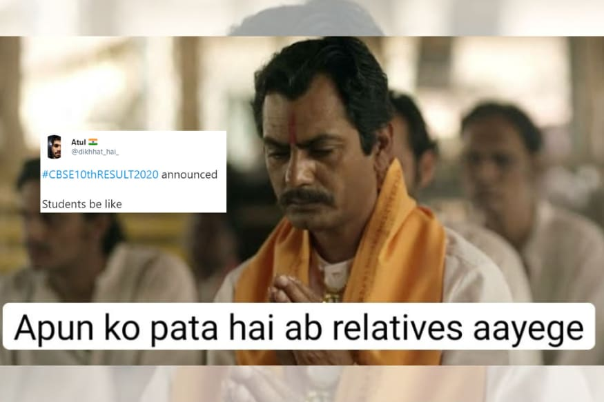 Cbse Class X Board Results Finally Announced And Relatives Have Once Again Topped With Memes