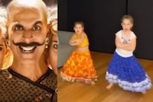 You Can't Take Eyes Off David Warner's Adorable Daughters Dancing to Akshay Kumar's Bala Song