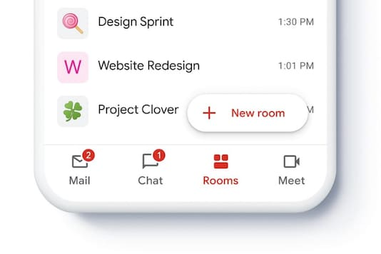 Gmail Is Morphing Into A Communications App With Chat, Rooms & Meet Integrations Incoming