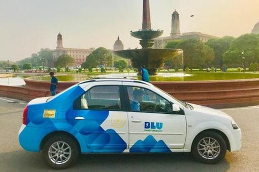 BluSmart Cabs. (Image source: BluSmart)