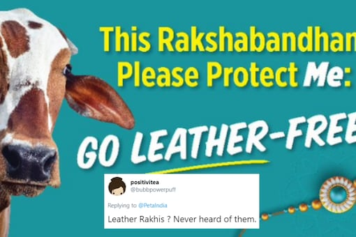 A new PETA campaign against the use of leather products seems to have missed its mark on Twitter   Image credit: Twitter
