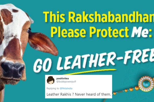 A new PETA campaign against the use of leather products seems to have missed its mark on Twitter | Image credit: Twitter