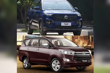 MG Hector Plus vs Toyota Innova Crysta Spec Comparison: Engine, Features, Price and More