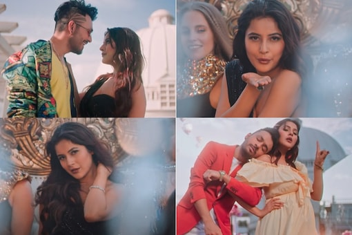 Kurta Pajama Music Video Out: Tony Kakkar Tries to Woo Shehnaaz Gill In This Party Number