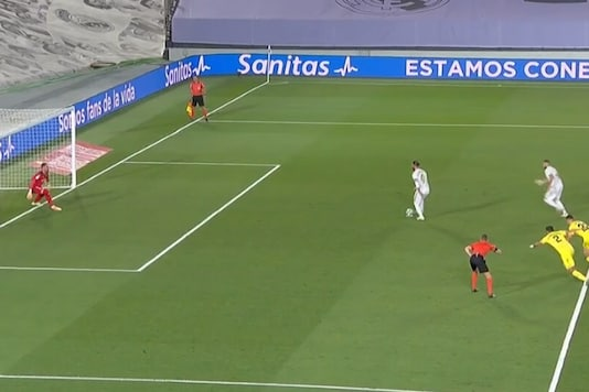 Sergio Ramos-Karim Benzema penalty (Photo Credit: Twitter)