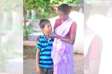 Mother and Son Reunited After 4 Years During Andhra Police's Screening Street Children for Covid-19