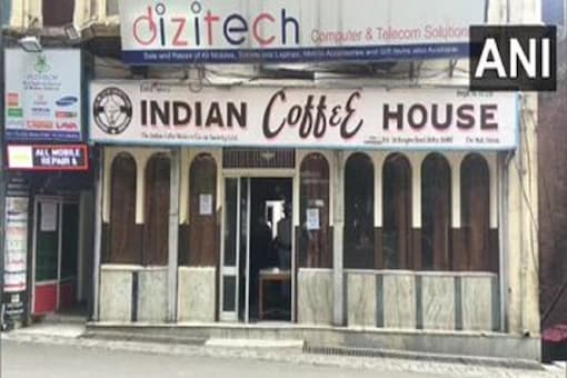 File photo of the Indian Coffee House in Shimla. (Credit: ANI/Twitter)