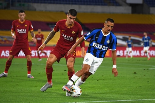 Inter Milan and Roma (Photo Credit: Twitter)