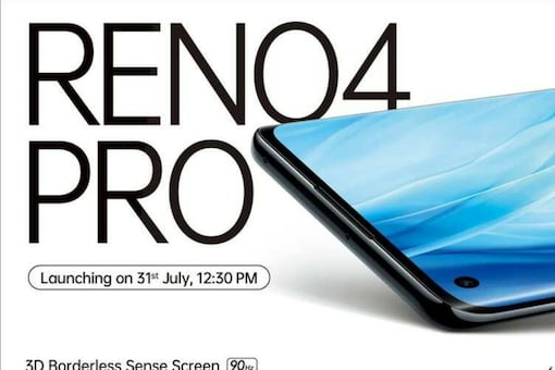OPPO Reno4 Pro Launch On July 31: 6.5-inch Curved AMOLED With 90Hz Refresh Rate