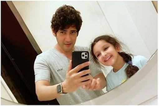 Mahesh Babu and daughter Sitara.