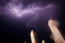 Perfectly Timed Photographs of Lightning Strikes!