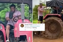 Salman Khan Gets Trolled after He Shares Farming Video of Ploughing Muddy Fields