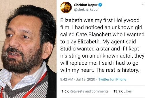 Studio Wanted A Star As Elizabeth, Not 'Unknown Girl' Cate Blanchett: Shekhar Kapur