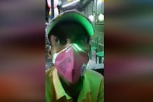 Man in Bengal is Using LED Masks to Spread Awareness About Coronavirus