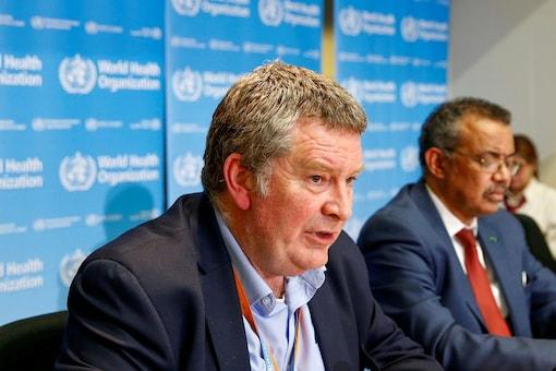 FILE PHOTO: Executive Director of the World Health Organization's (WHO) emergencies program Mike Ryan speaks at a news conference on the novel coronavirus (2019-nCoV) in Geneva, Switzerland February 6, 2020. REUTERS/Denis Balibouse/File Photo
