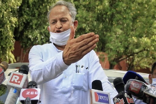 File photo: Rajasthan CM Ashok Gehlot launched a personal attack against his former deputy Sachin Pilot on Monday. (Photo: PTI)
