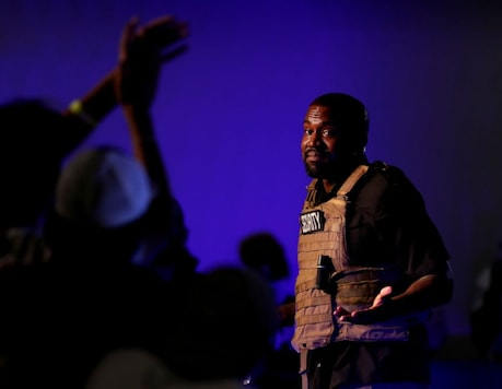 Rapper Kanye West holds his first rally in support of his presidential bid in North Charleston, South Carolina, US. (Image: Reuters)