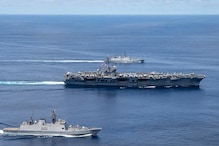 Indian Navy Holds Exercises with US Carrier Nimitz in Tightening Cooperation amid China Tension