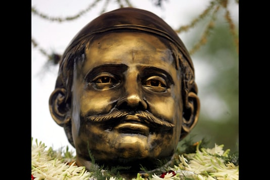 File photo of a Mangal Pandey statue. (Reuters)