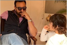 Saif Ali Khan Reads Ramayana to Taimur