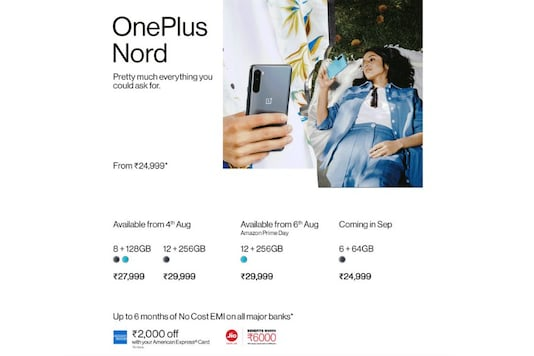 OnePlus Nord Arrives In India Soon: Tempting Prices, Variants, All The Specs, Deals And More