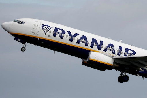 File photo of a Ryanair flight taking off from Manchester Airport in United Kingdom. (Image Source: Reuters)