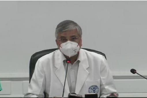 File photo of AIIMS Director and member of the National Task Force on COVID19, Dr Randeep Guleria. (Photo: ANI)