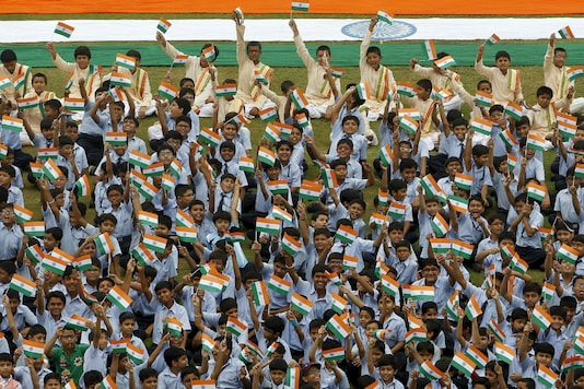 School children who gather in saffron, white and green will be missing this year and number of diplomats, ministers and dignitaries could also be kept to a minimum.  (Reuters File)